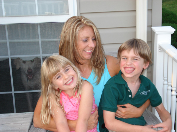 Shelly, Hunter and Kyla